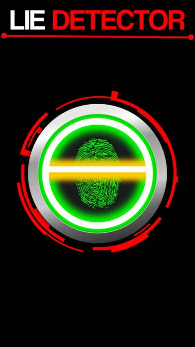Lie Detector Fingerprint Touch Scanner - Truth or Lying Test HD + screenshot one