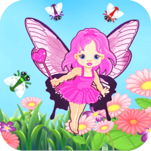 Fairy Catch - Pretty Pink Princess Girl Fun Catching Endless Top Action Glitter Bling Game iOS App