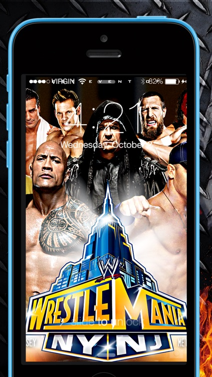 Wallpapers for WWE 2k14 & set lock screen screenshot-3
