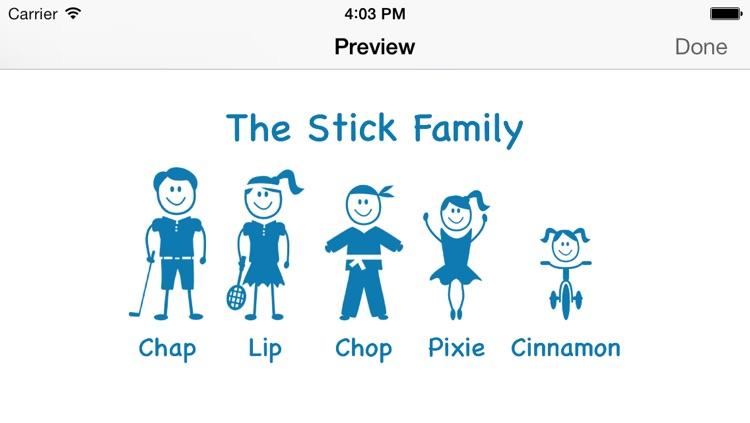 Stick Family Creator screenshot-3