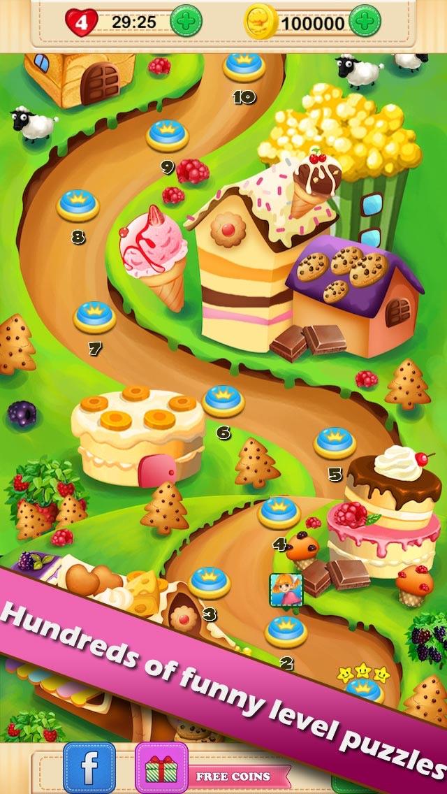 Cookie Splash - The Pop Match-ing Game. Free! hack tool