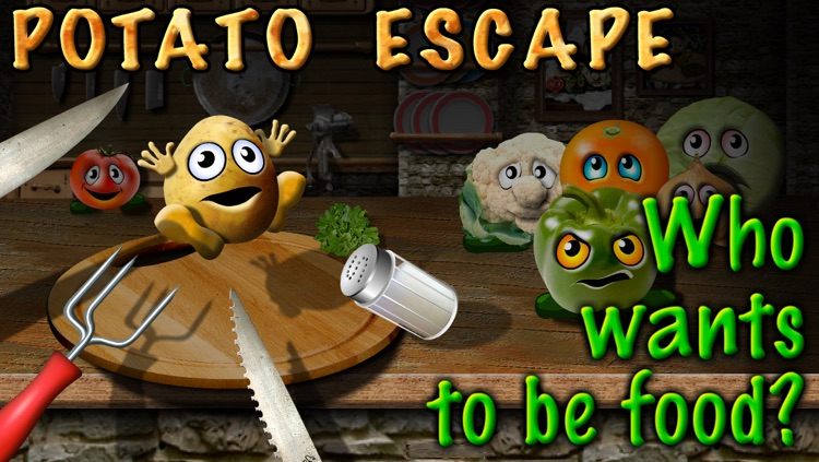 Potato Escape - One Touch Runner screenshot-0