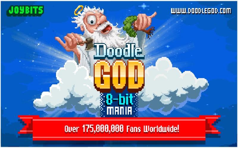 Doodle God: 8-bit Mania screenshot 1