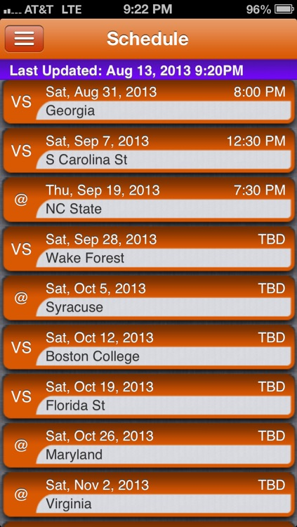 Clemson Football Live screenshot-2