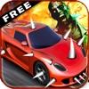ゾンビに無料(3D黙示録車のドライビングゲームを)リッピング