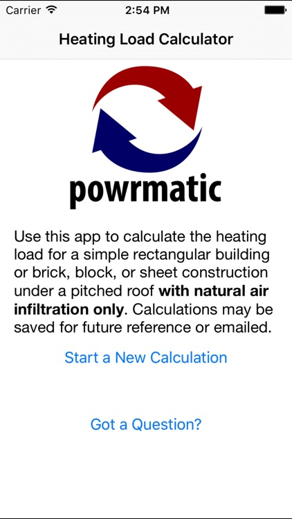 powrmatic heating load calculator by scrumpylicious