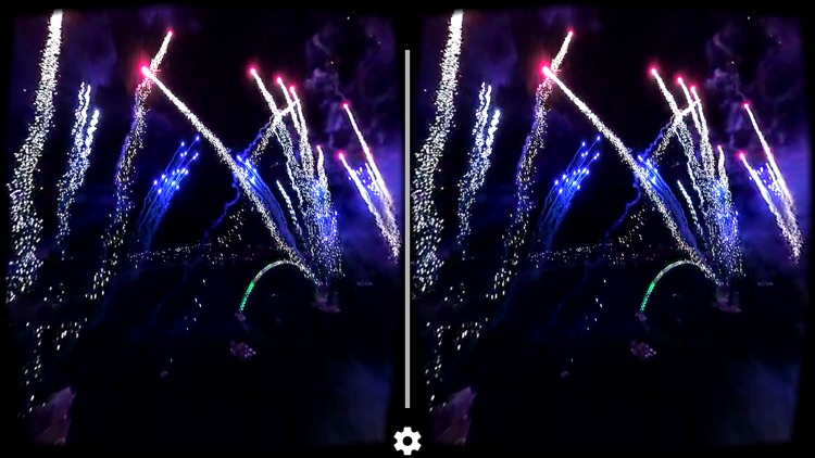 VR Fireworks Drone Flight in the middle - Virtual Reality 360 screenshot-3