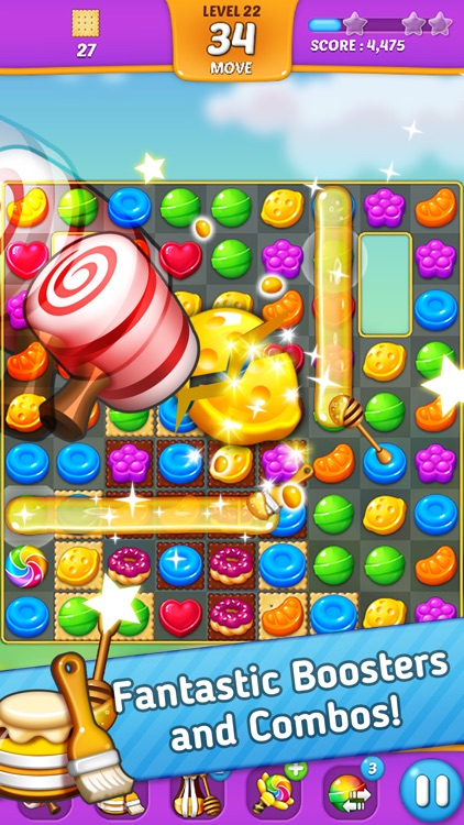 Lollipop: Sweet Taste Match3 screenshot-3