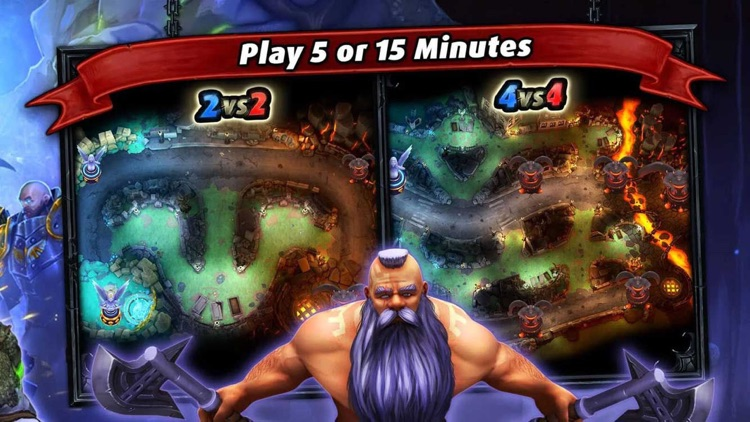 Heroes of SoulCraft - MOBA screenshot-3