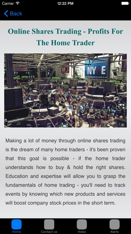 Online Share Trading Secrets For Stock Market