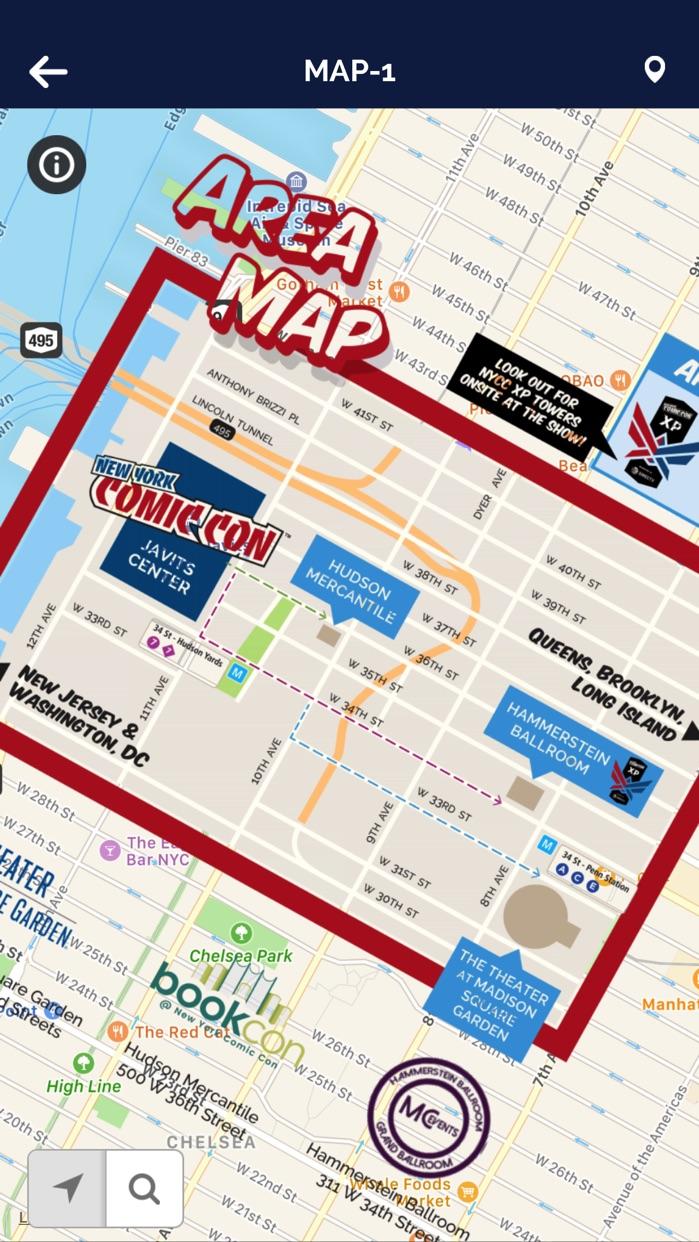 New York Comic Con Screenshot