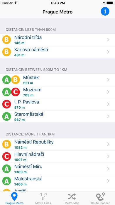 Prague Metro Screenshot 1