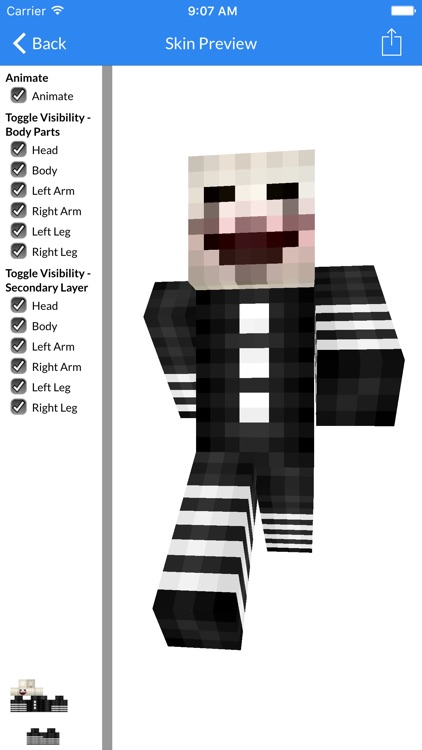 Skins for FNAF Edition - Best FNAF Skins available For Minecraft PE screenshot-2