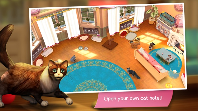 CatHotel - Care for cute cats Screenshot