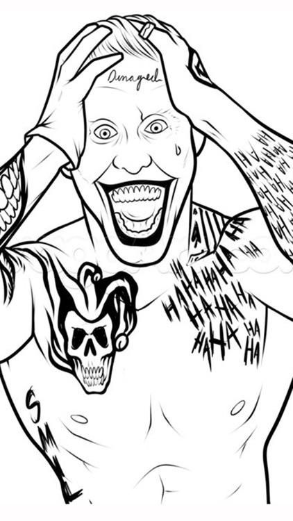 Coloring Pages For Squad