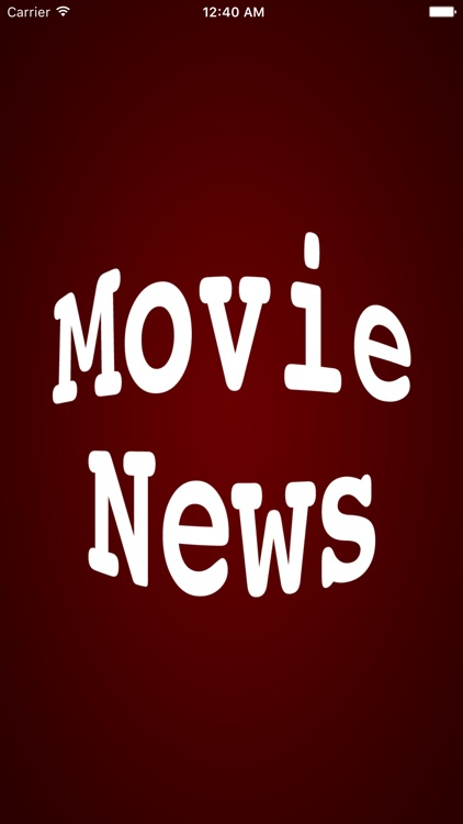 Movie News - A News Reader for Movie Fans!
