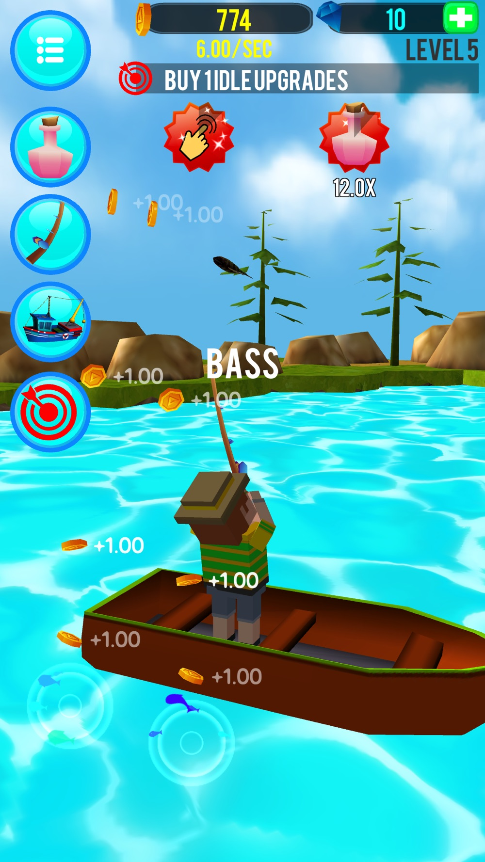 Fishing Clicker hack tool