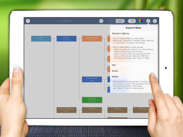 WBS - Project Work Breakdown Structure Management screenshot-4