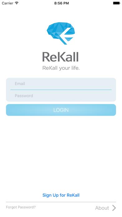 ReKall - Life Security screenshot one