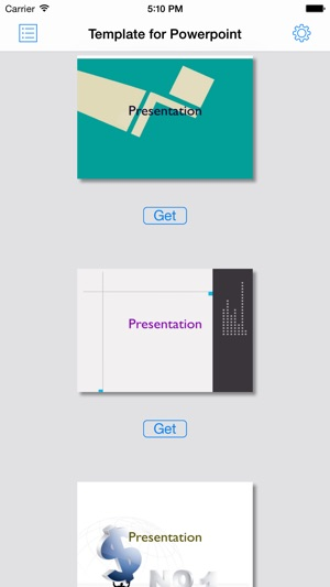 Factory For Powerpointtemplatetheme On The App Store