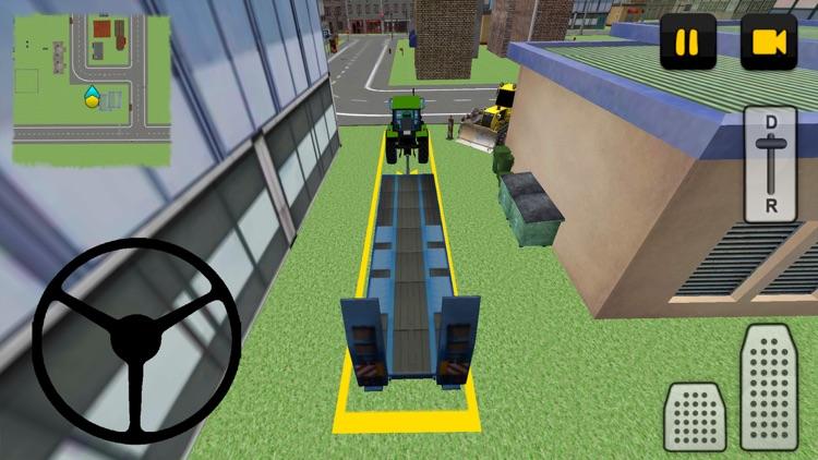 Tractor Driver 3D: City screenshot-3