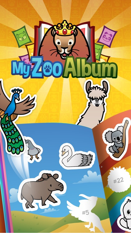 My Zoo Album - Collect and Trade Animal Stickers!