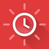 Red Clock - シンプルで美しい目覚まし時計