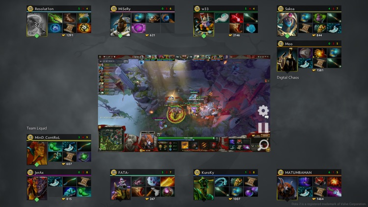 Dota Live Analytics screenshot-0