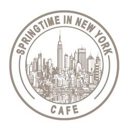 Springtime in New York Cafe