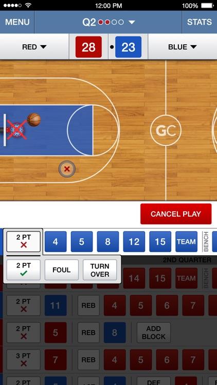 GameChanger Basketball Scorekeeper screenshot-0