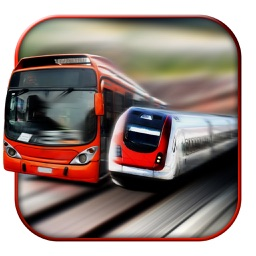 Euro Train vs Metro Bus - Bus Drive 3D