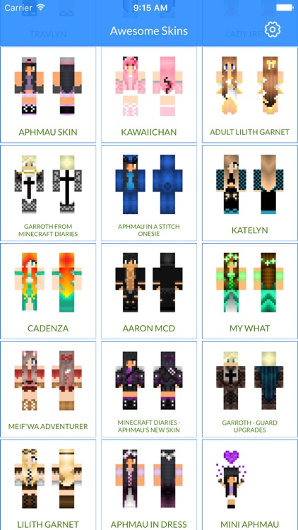 Aphmau Skins For MCPE Best Aphmau Skins For Minecraft Pocket - Skins para minecraft pe 0 15 2