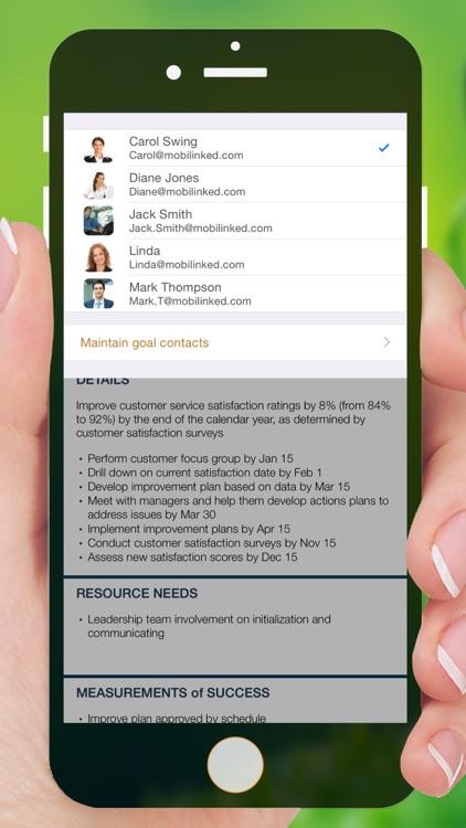 Goal Master - SMART goals & performance management screenshot-4