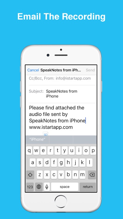 SpeakNotes - Audio Recorder. screenshot-4