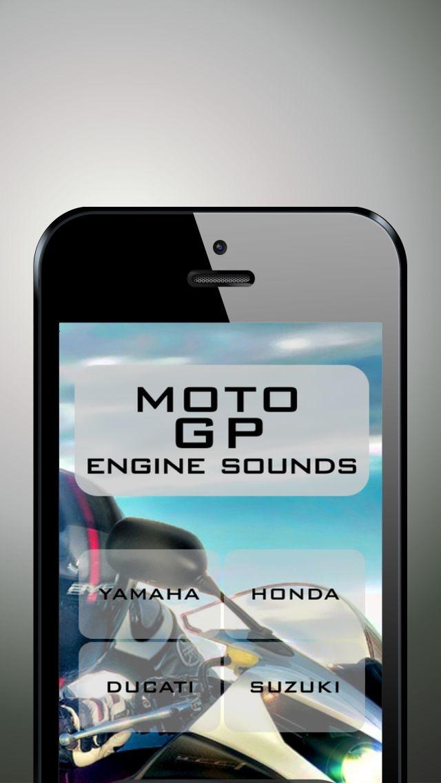 Moto GP engine sounds screenshot one