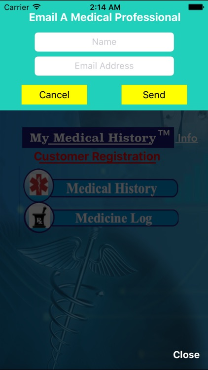 My Medical History - QR screenshot-3