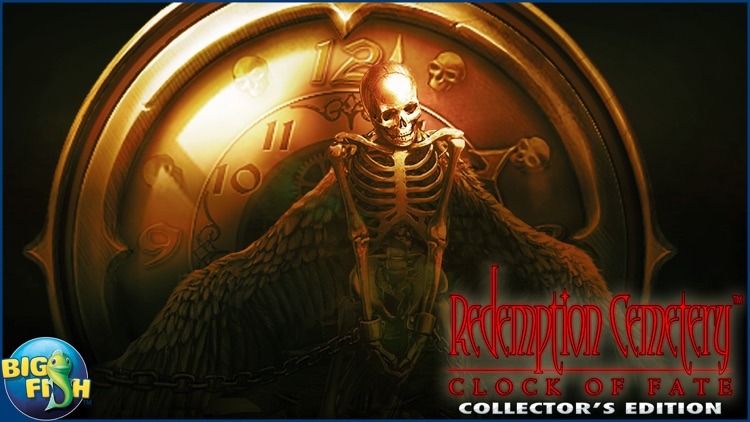 Redemption Cemetery: Clock of Fate - A Mystery Hidden Object Game (Full) screenshot-4