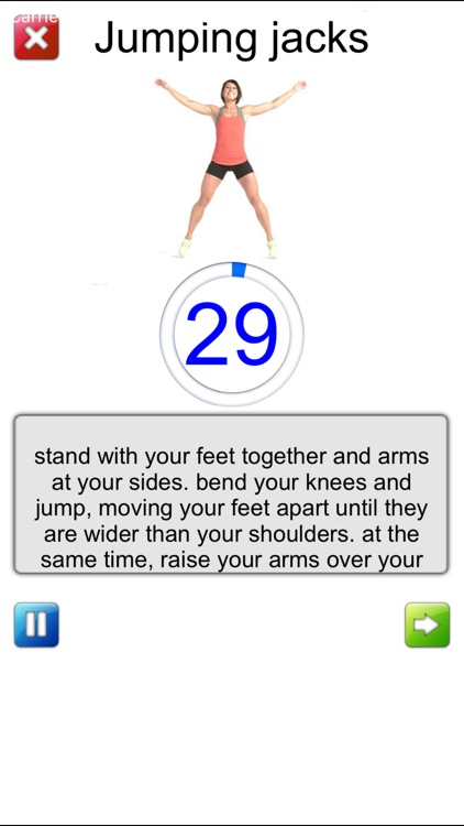 Seven Minutes Exercise