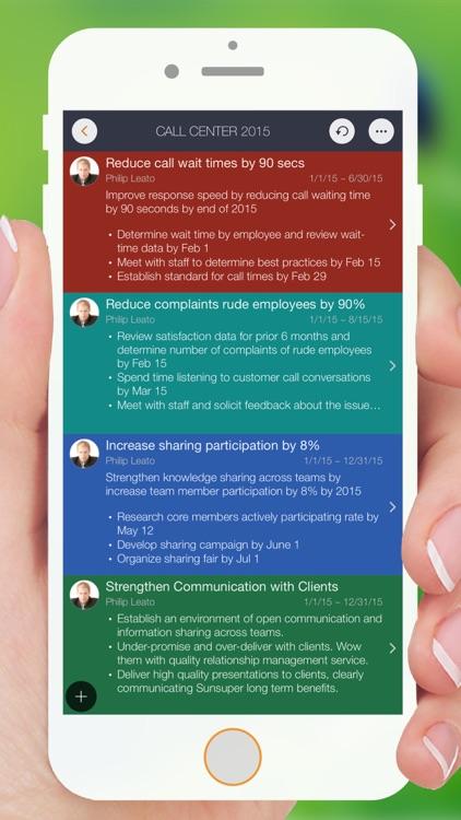 Goal Master - SMART goals & performance management screenshot-0