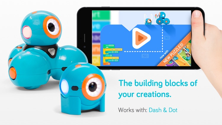Blockly for Dash & Dot robots screenshot-0