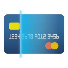 Cam Checkout – credit/debit card scan & easy checkout & read card information