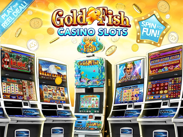 Gold Fish Slots Casino HD screenshot-0