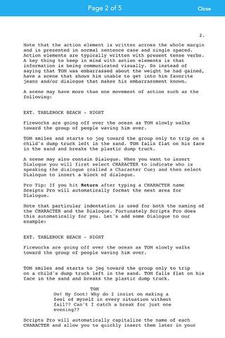 Scripts Pro - Screenwriting on the Go screenshot 4
