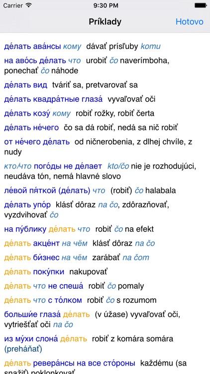 Lingea Rusko-slovenský veľký slovník screenshot-3