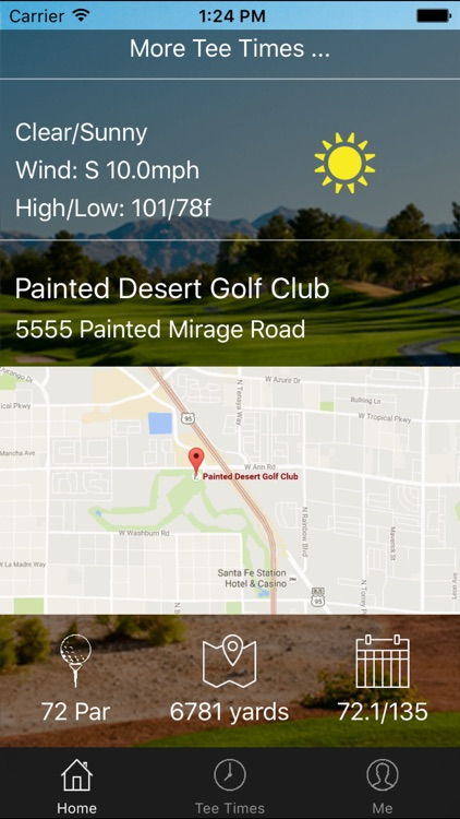 Painted Desert Golf Club Tee Times