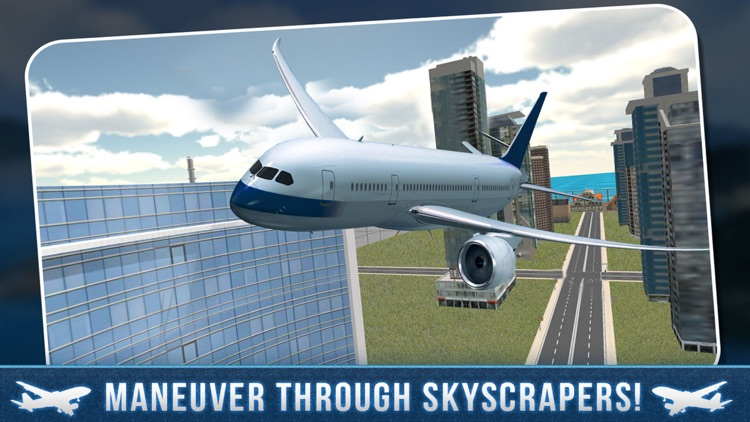 Real Airport City Air Plane Flight Simulator screenshot-0
