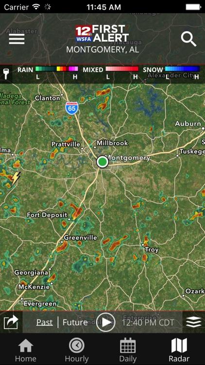 WSFA First Alert Weather screenshot-4