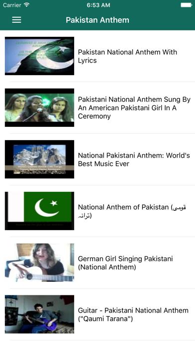 Pakistani Milli Naghmay screenshot two
