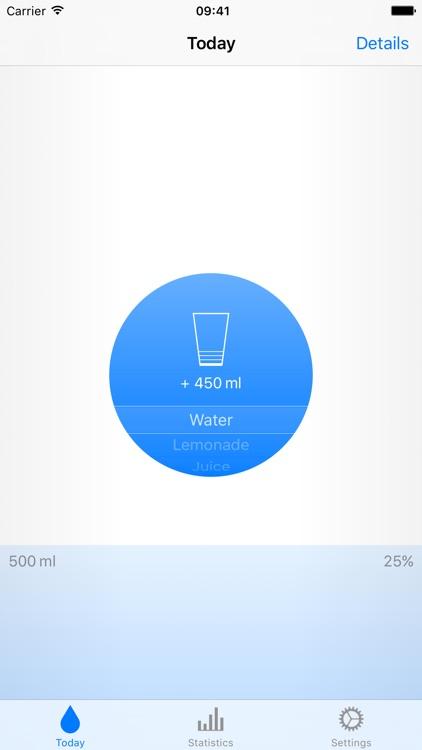 Water: Liquid Tracker