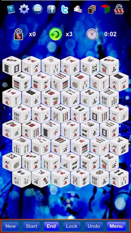 Mahjong 3D Solitaire by SZY screenshot-0